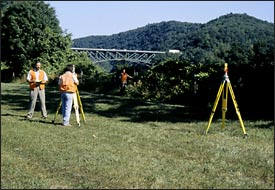 Topographic Surveys Retreat Farm, Brattleboro, Vt
